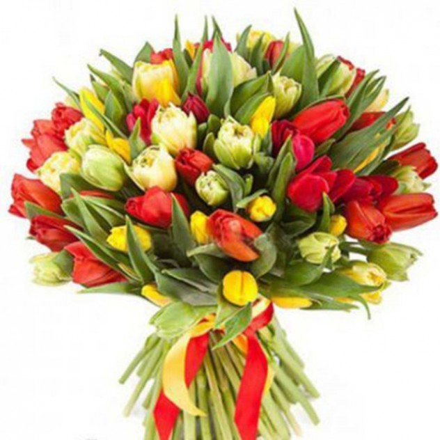Букет из тюльпанов № 8
